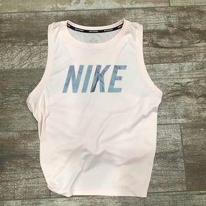 Nike | knot tie running tank